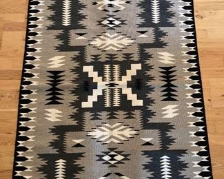 Another view of the Navajo rug/wall hanging (40 x 55 inches)