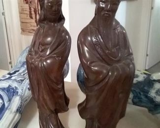1890-1920s Chinese Statues