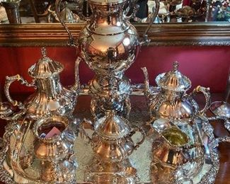 Exceptional Sterling Tea Service