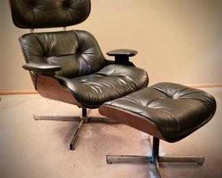 Selig Lounge Chair and Ottoman