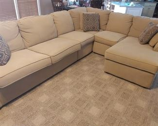 Custom Made Sectional Couch