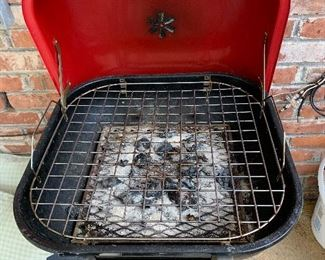 #6Aussie charcoal grill $20.00