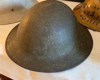 #39WWII  Steel  Helmet $125.00