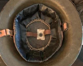 #40WWI US Steel Helmet dated 1918-1919 $150.00