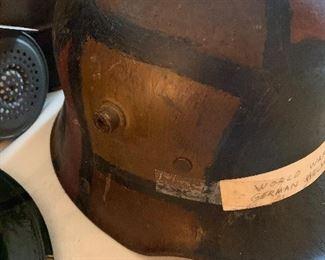 #41WWI German Camo Steel Helmet M-16 M-17 $275.00