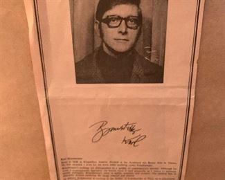 #80Karl Brandstatter signed and numbered print $100.00