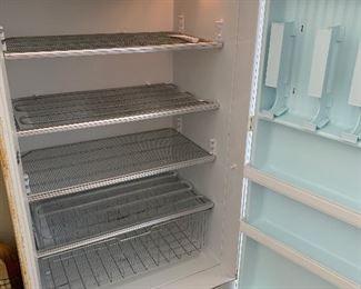 #81Frigidaire No. 186 freezer. Not frost free. $25.00