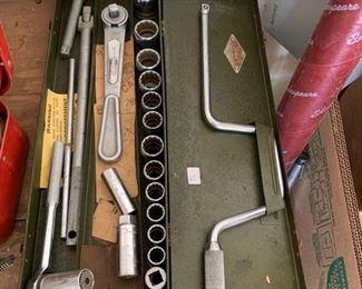 #84S-K Tools ratchet set $25.00
