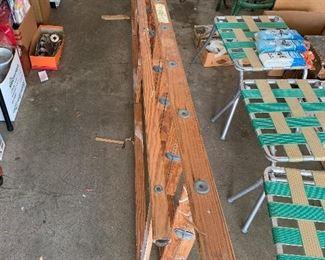 #856' wooden ladder $35.00
