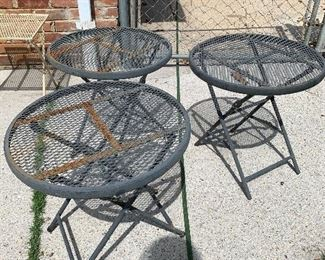 #96round tables 3@$5 each