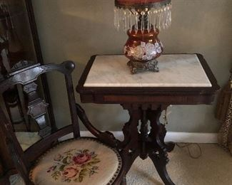 Needlepoint side Chair