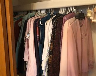 Some Ladies and Men's Clothing....Also some Halloween Costumes!