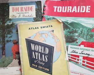 Vintage travel- like AAA triptiks
