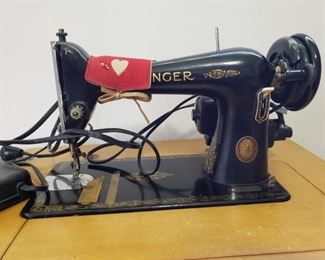 Singer sewing machine from 1951