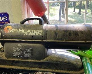 Mr. Heater 75,000 BTU; ParAide ball washer