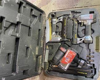 Senco set of 3 nail guns