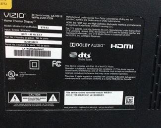 VIZIO E70-E3 70'' 4K UHD HDR LED SMART TV