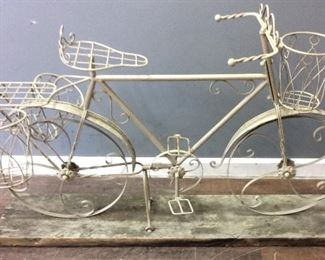 BICYCLE YARD PLANT STAND