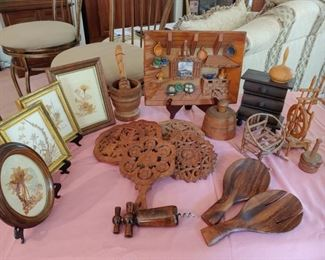 Country Decor from Wood