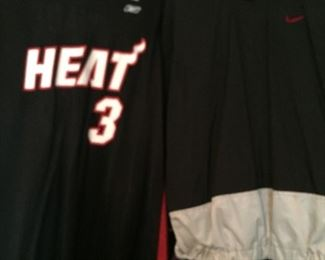 Heat Jersey Wade Collectible