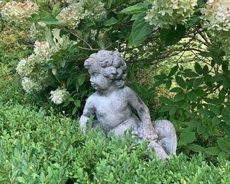 French Garden figure $350