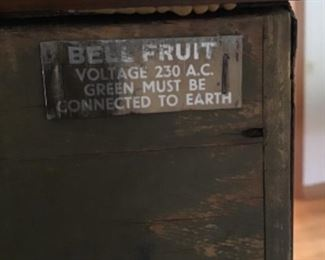 Bell Fruit slot