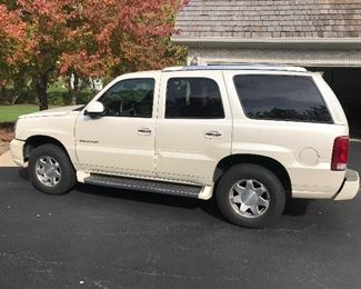 2002 Cadillac Escalade, More pictures further down