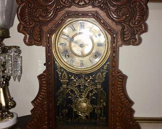 antique gingerbread clocks