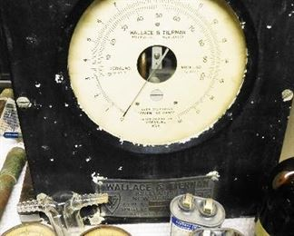 Wallace & Tiernan pressure gauge.