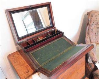 Antique traveling desk