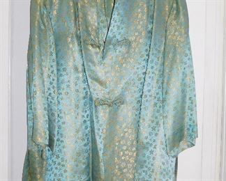 1950s Japanese silk jacket and pants