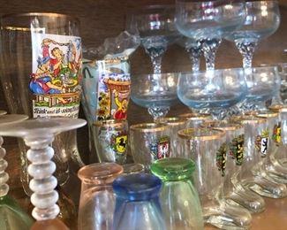 German glassware