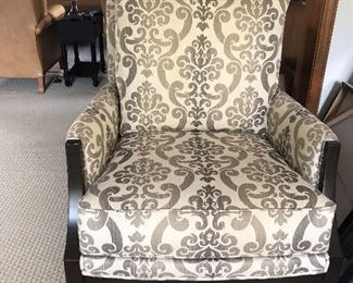 Ethan Allen Upholstered Arm Chair  40w x 22d x 37h $450 (still sold in store)