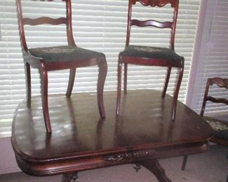 Carls Forslund Dining Set - Price Greatly Reduced.  Would look great white-washed.