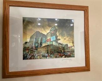 Signed James Keating photo