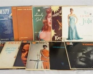 1003 1003LOT OF 14 10 IN JAZZ ALBUMS; CLASSICS IN JAZZ COOL & QUIET, OSCAR PETERSON QUARTET, THE GREAT JIMMIE LUNCEFORD FOR DANCERS ONLY, HI-JINKS ON THE HAMMOND MILT HERTH TRIO, DIXIELAND JAZZ BATTLES VOLUMES 1 & 2, KENTON PRESENTS JAZZ FRANK ROSOLINO, COUNT BASIE BIG BAND, GENE KRUPA & HIS ORCHESTRA, FROM AUSTIN HIGH COMES JAZZ BUD FREEMAN & HIS FAMOUS CHICAGOANS, GENE KRUPA DANCE PARADE, DUKE ELLINGTONS LIBERIANN SUITE, PIANO MOODS- TEDDY WILSON & ERROLL GARNER