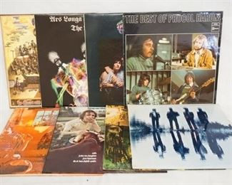 1008 1008LOT OF EIGHT IMPORT ALBUMS; TRAFFIC MR. FANTASY, ANSLEY DUNBAR-  & DOCTOR DUNBAR'S PRESCRIPTION. JACK BRUCE THINGS WE LIKE, PROCOL HARUM LIVE, THE NICE ARS LONGA VITA BREVIS, THE BEST OF PROCOL HARUM & THE NICE THE THOUGHTS OF EMERLIST DAVJACK