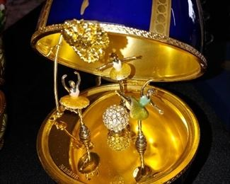 Faberge Ballet Rousse Musical Egg