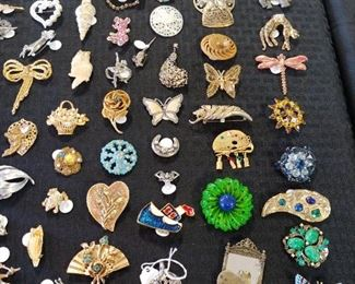 Sterling and Costume Jewelry