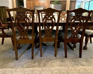 Chippendale Style Dining Set