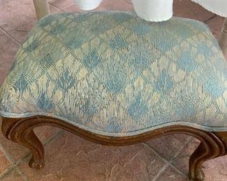 Vintage footstool