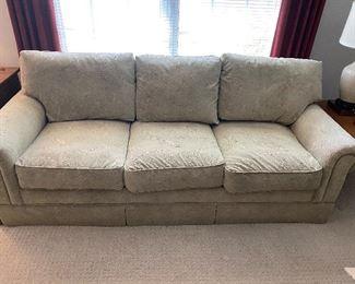 I.Raymond sleeper sofa in a neutral color