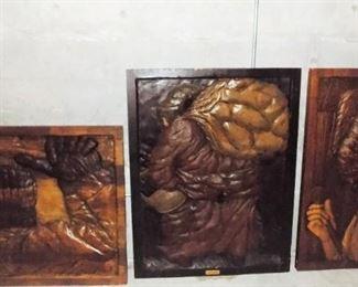 Vintage Wood Carvings