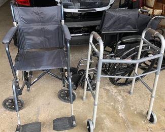 wheelchairs, walkers