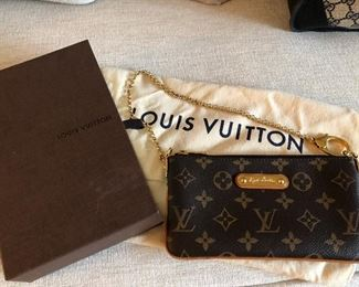 Louis Vuitton Milla MM Pochette - mint condition with dust bag and box