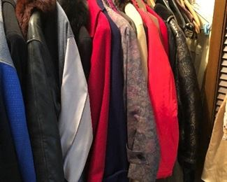 designer clothes & coats