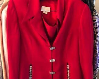 Alberto Makali sz 14 skirt suit