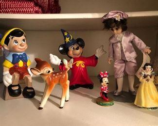 Vintage Disney figurines