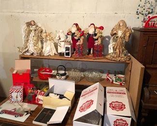 Xmas Lynn Haney Santas, angels