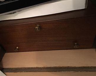 Sterling flatware in box